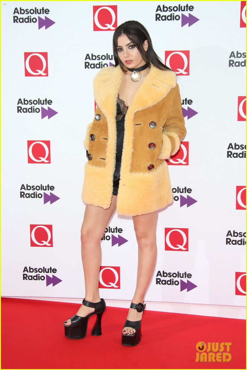 charli xcx miguel more hit the red carpet q awards 02