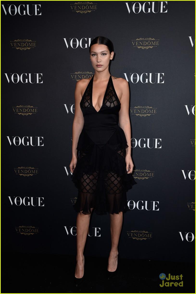 Barbara Palvin Black Dress