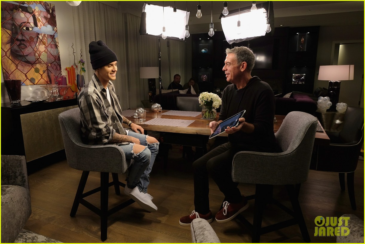justin bieber interview elvis duran purpose 13