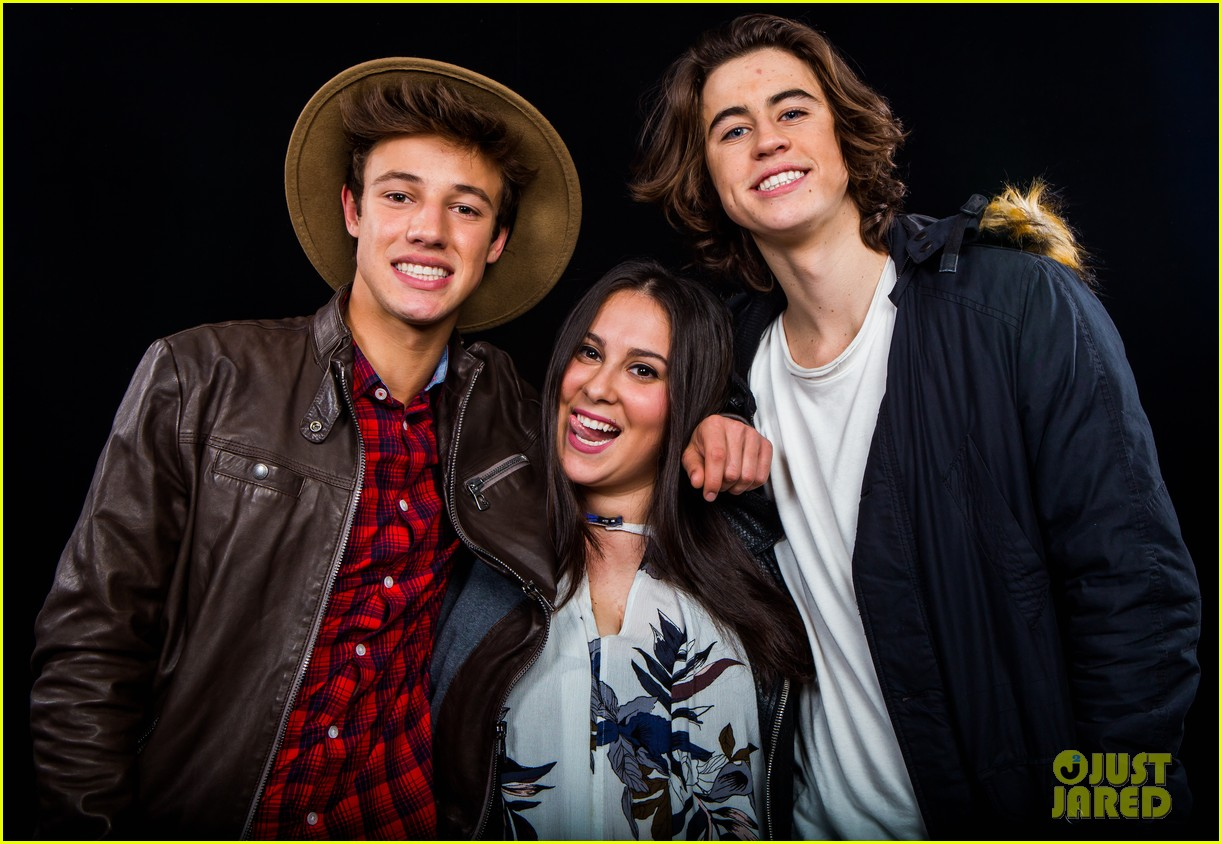 cameron dallas nash grier aol studios 18