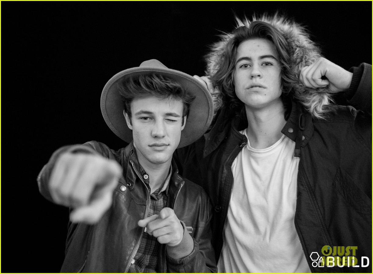 cameron dallas nash grier aol studios 19