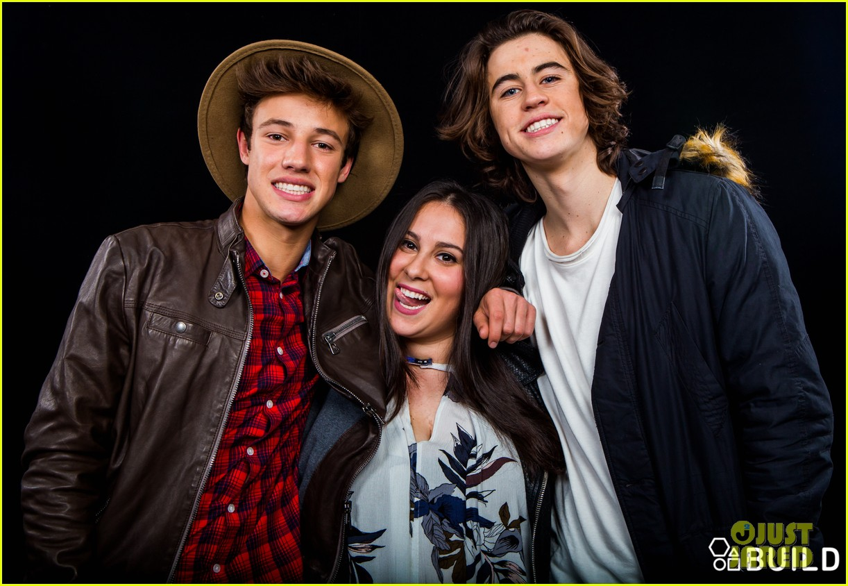 cameron dallas nash grier aol studios 35