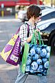 lily collins grabs groceries and her cleaners 17