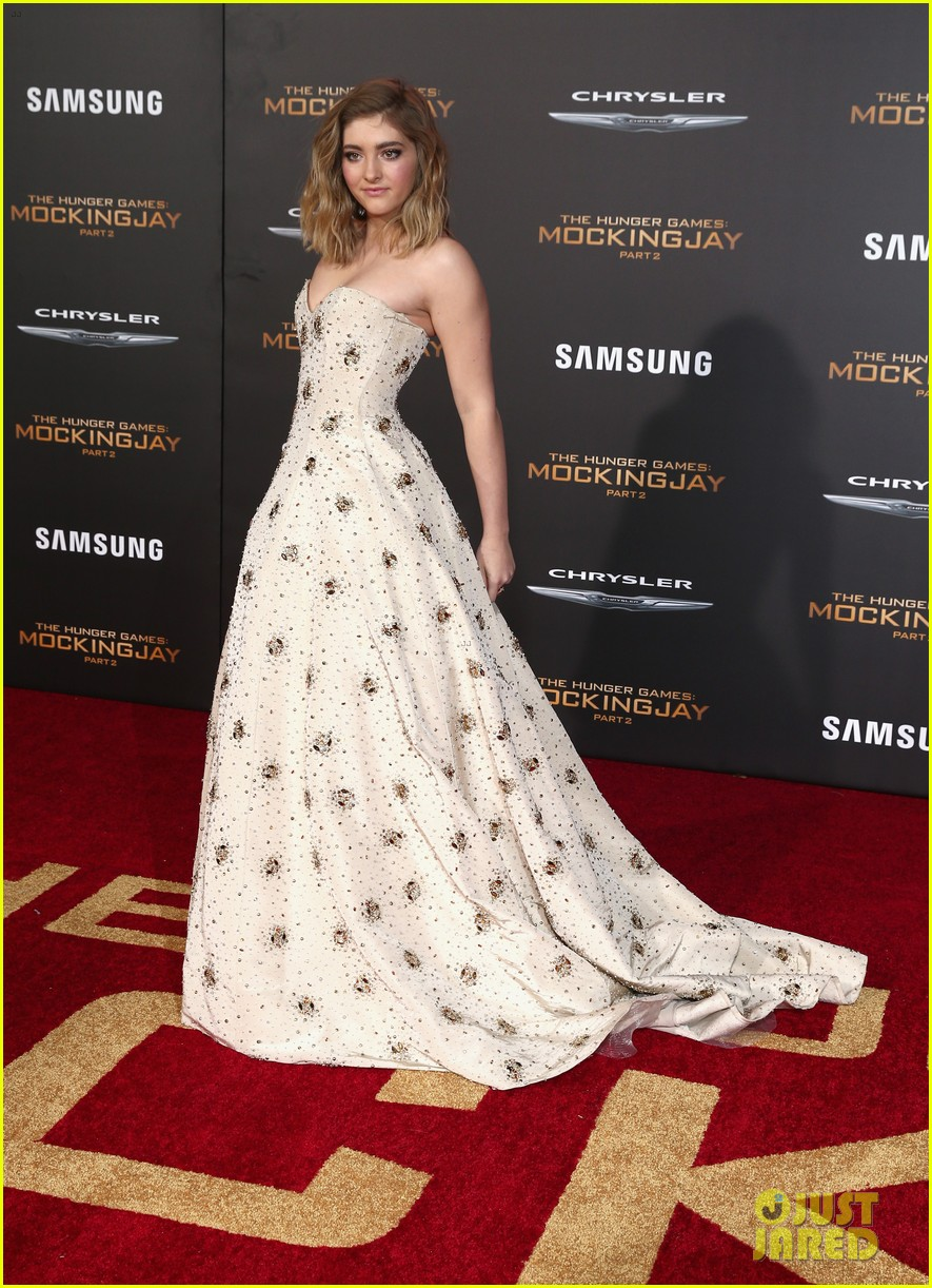 Willow Shields Absolutely Stuns at \'Hunger Games\' Premiere! | Photo ...