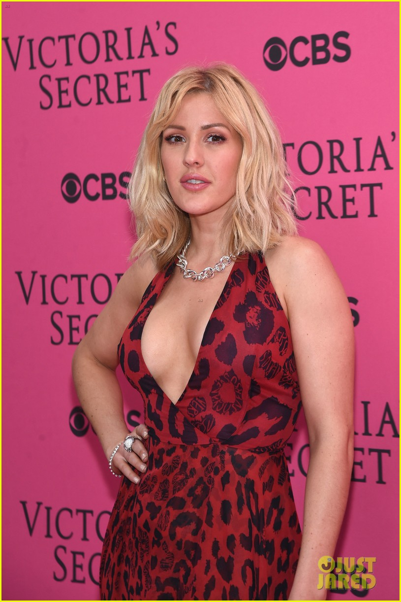 ellie goulding the weeknd victorias secret fashion show 2015 06