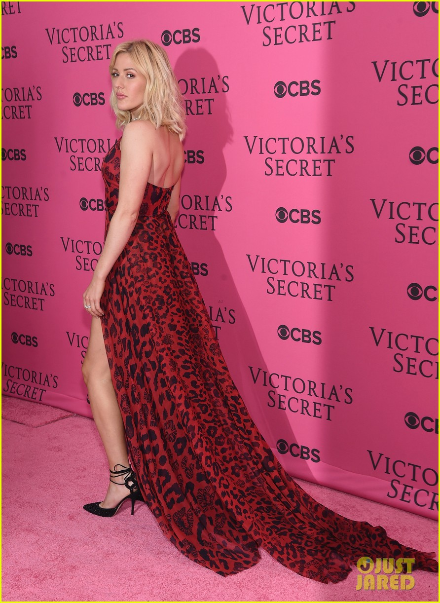 ellie goulding the weeknd victorias secret fashion show 2015 11