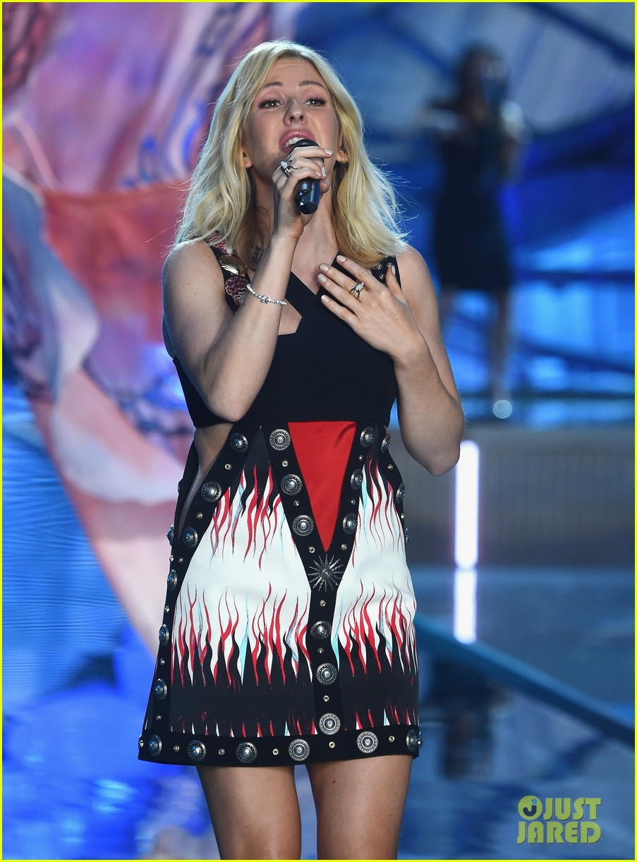 ellie goulding the weeknd victorias secret fashion show 2015 14