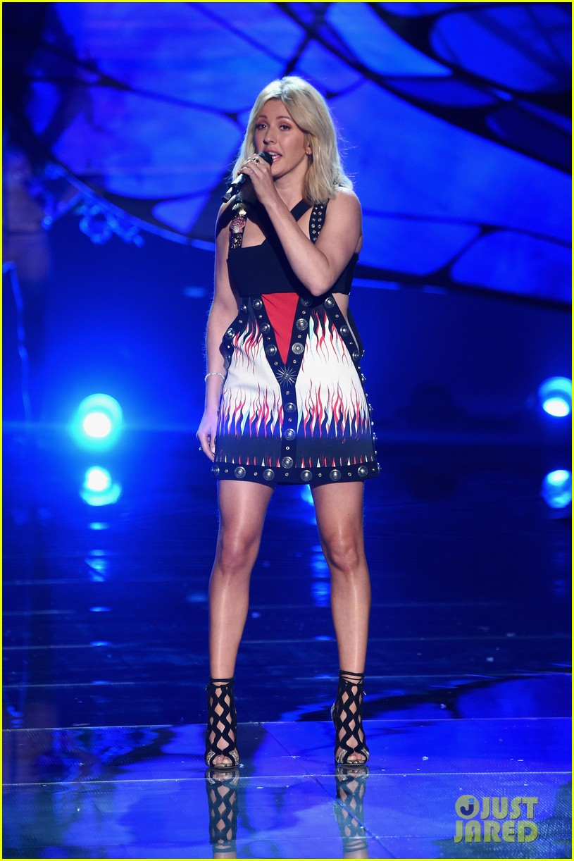 ellie goulding the weeknd victorias secret fashion show 2015 17