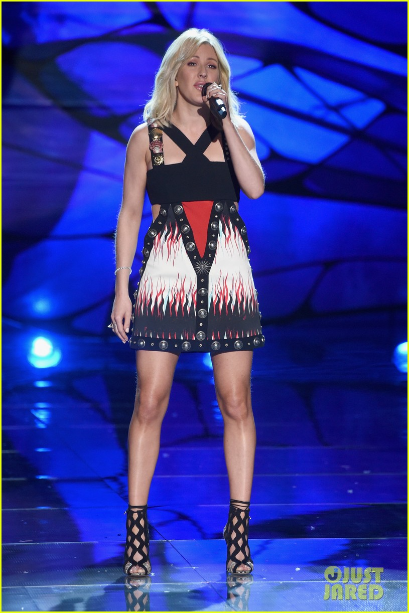 ellie goulding the weeknd victorias secret fashion show 2015 22