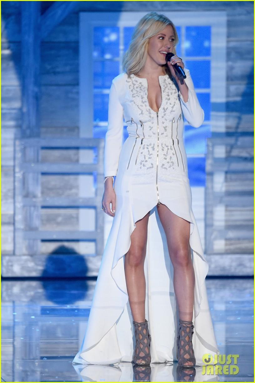 ellie goulding the weeknd victorias secret fashion show 2015 23