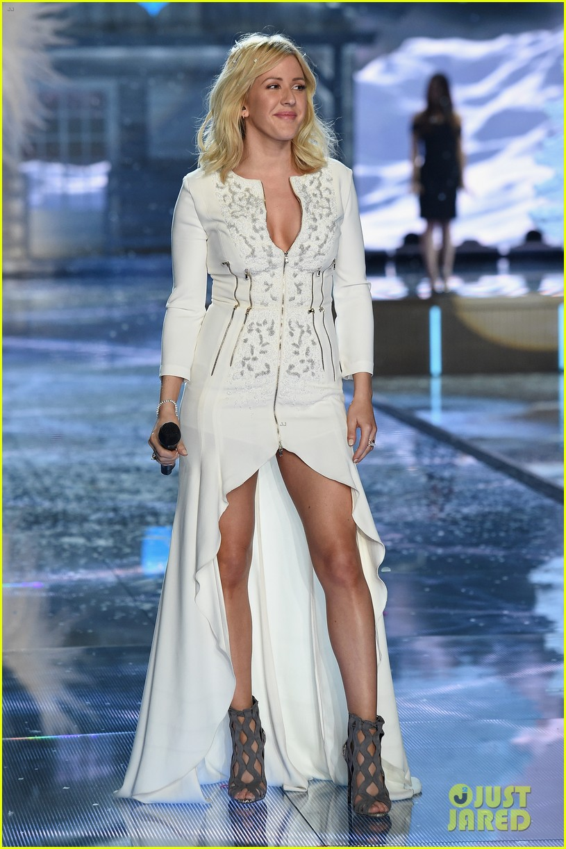 ellie goulding the weeknd victorias secret fashion show 2015 26
