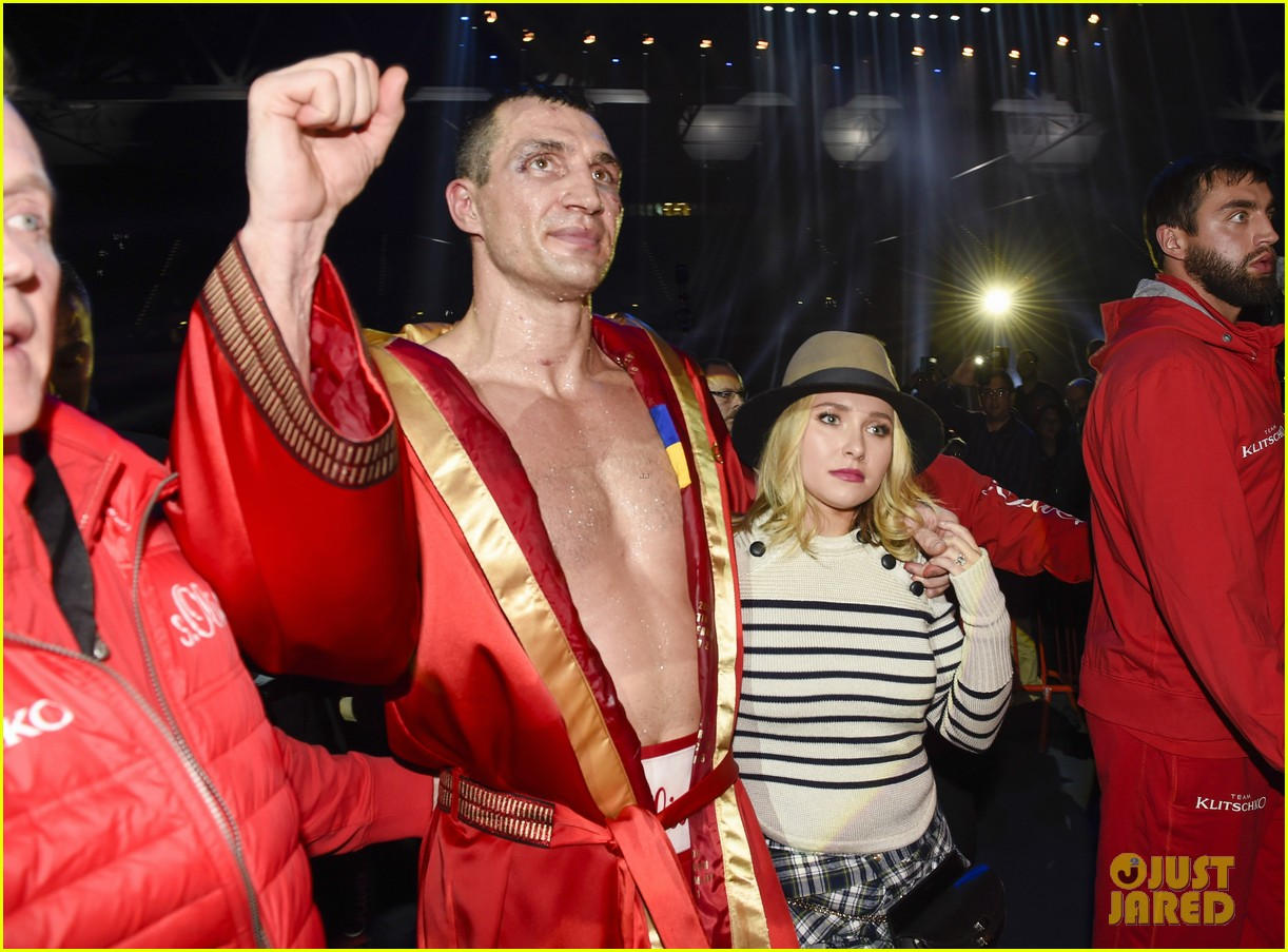 hayden panettiere wladimir klitschko fight after treatment 04