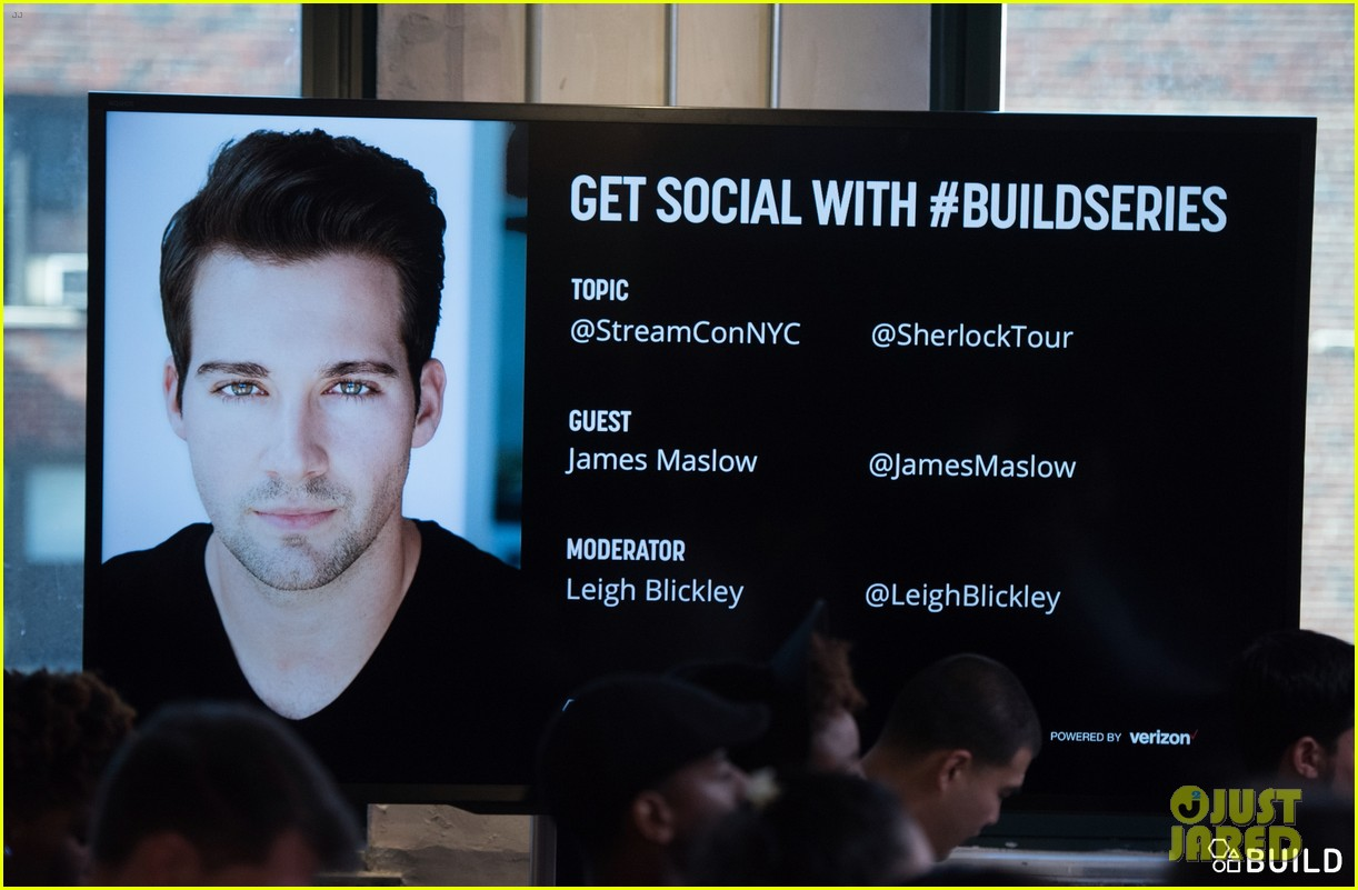 james maslow aol build series nyc 06