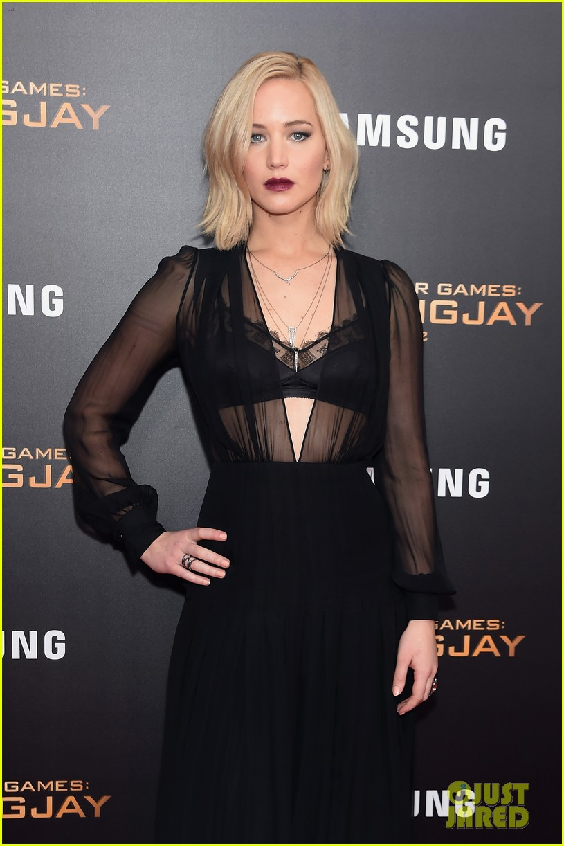 jennifer lawrence hunger games mockingjay nyc premiere 27
