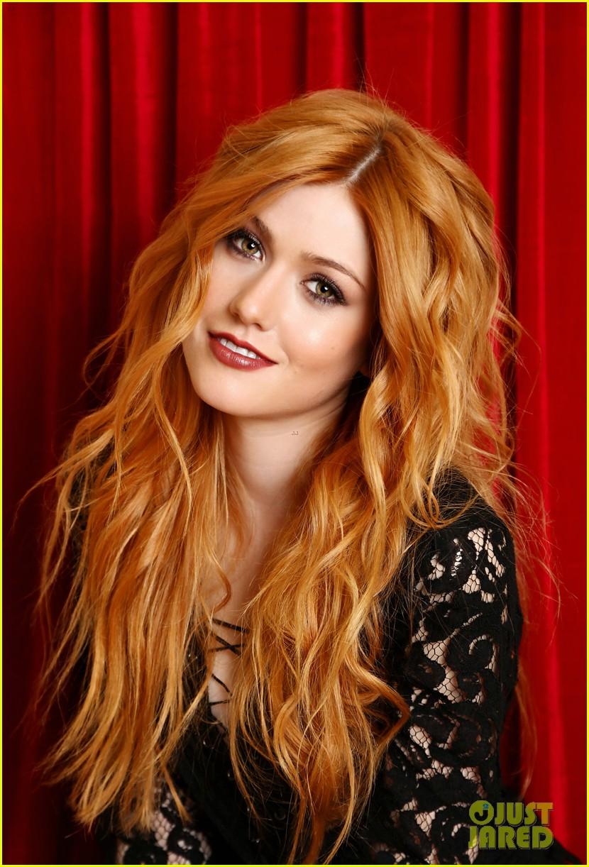 Actress with orange hair