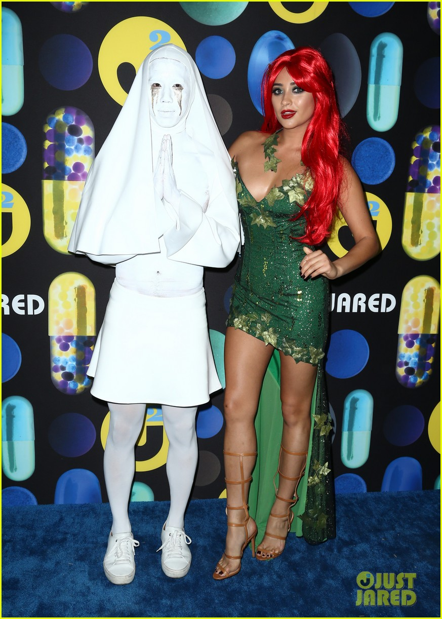 shay mitchell ashley benson just jared halloween party 20