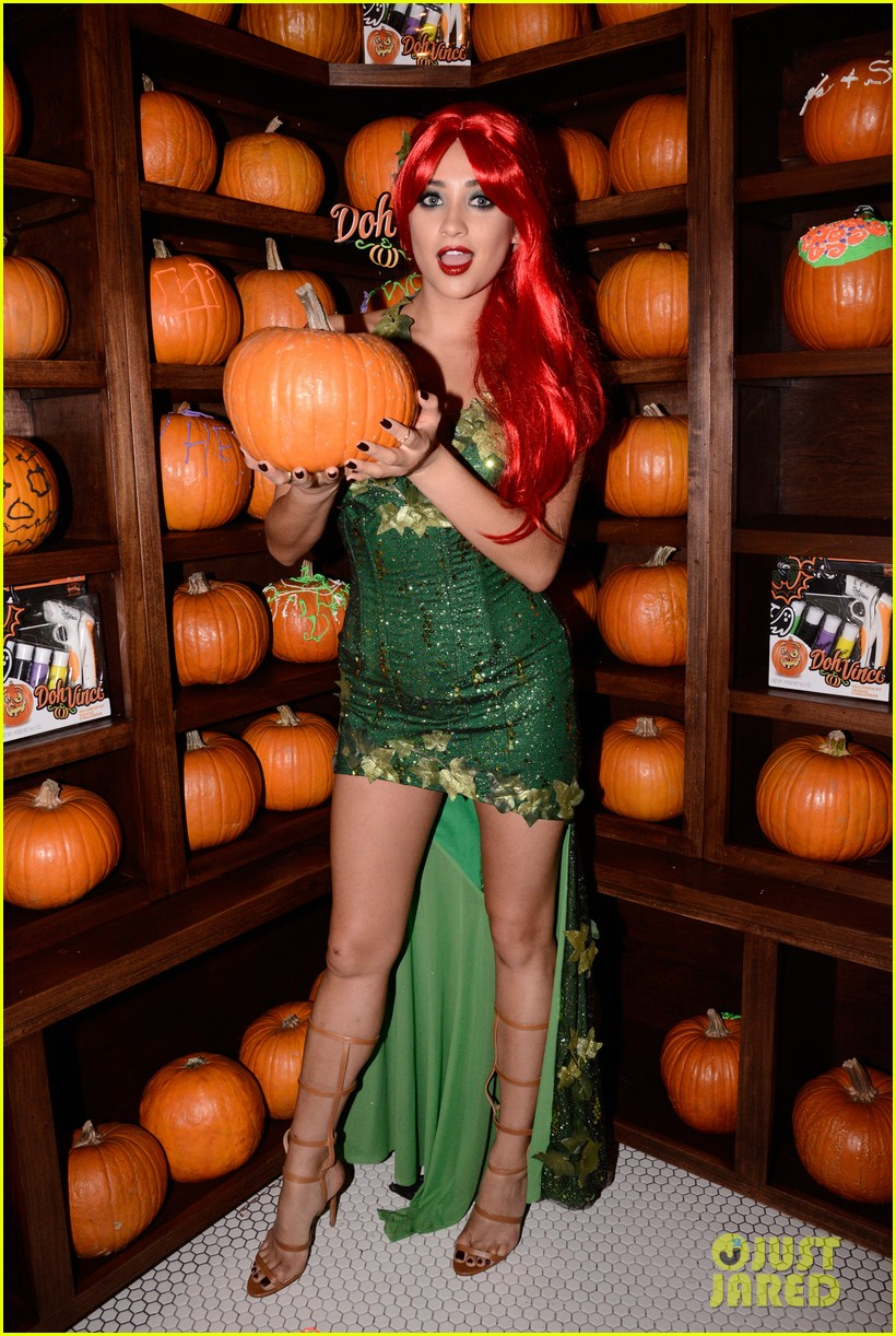 shay mitchell ashley benson just jared halloween party 35