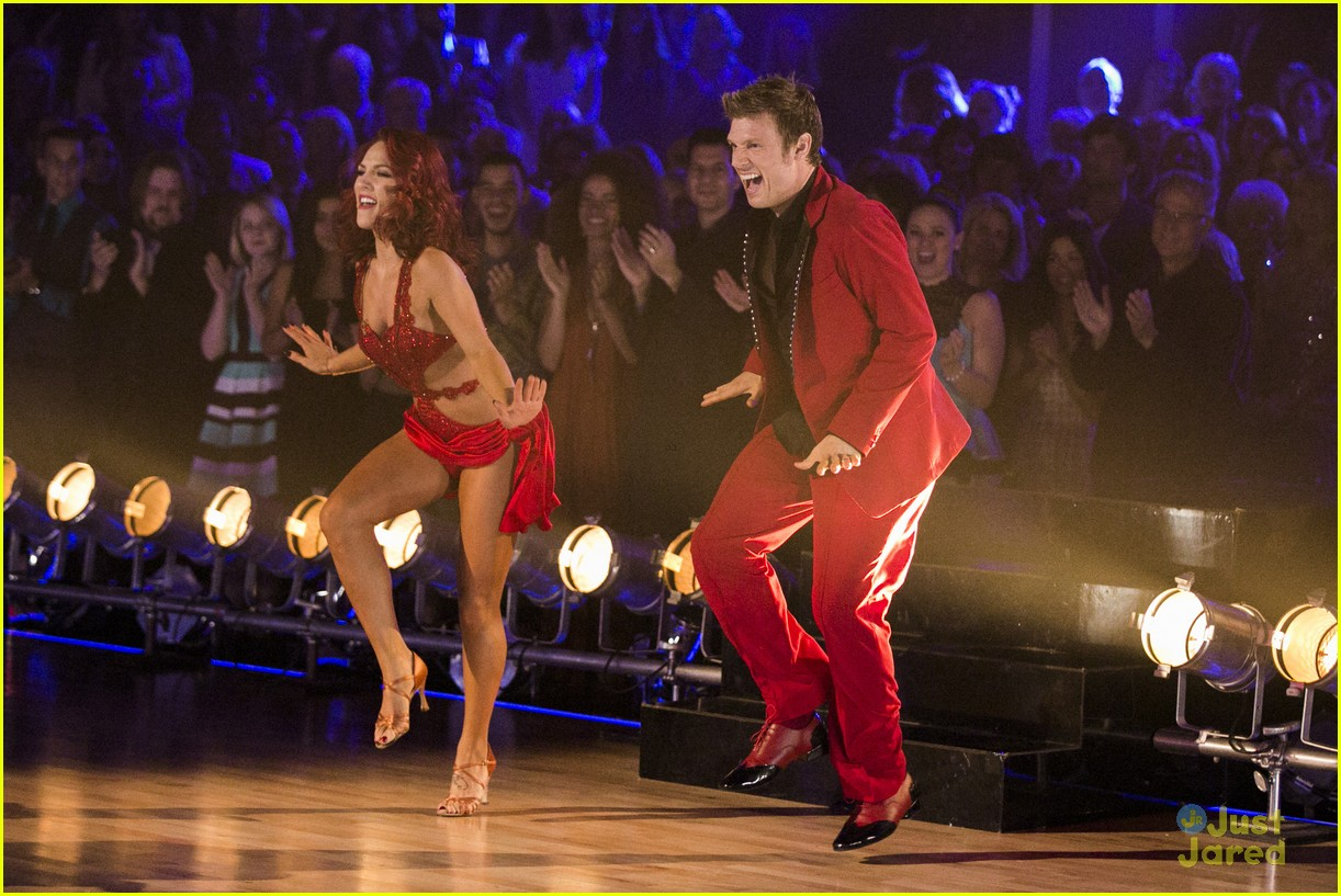 nick carter sharna burgess dwts finale 06