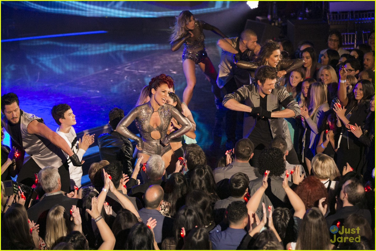 nick carter sharna burgess dwts finale 11