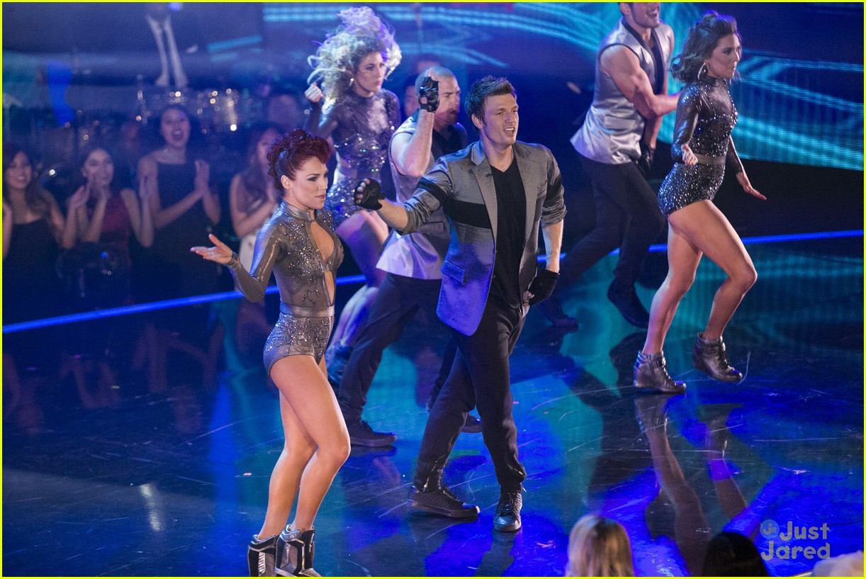 nick carter sharna burgess dwts finale 12