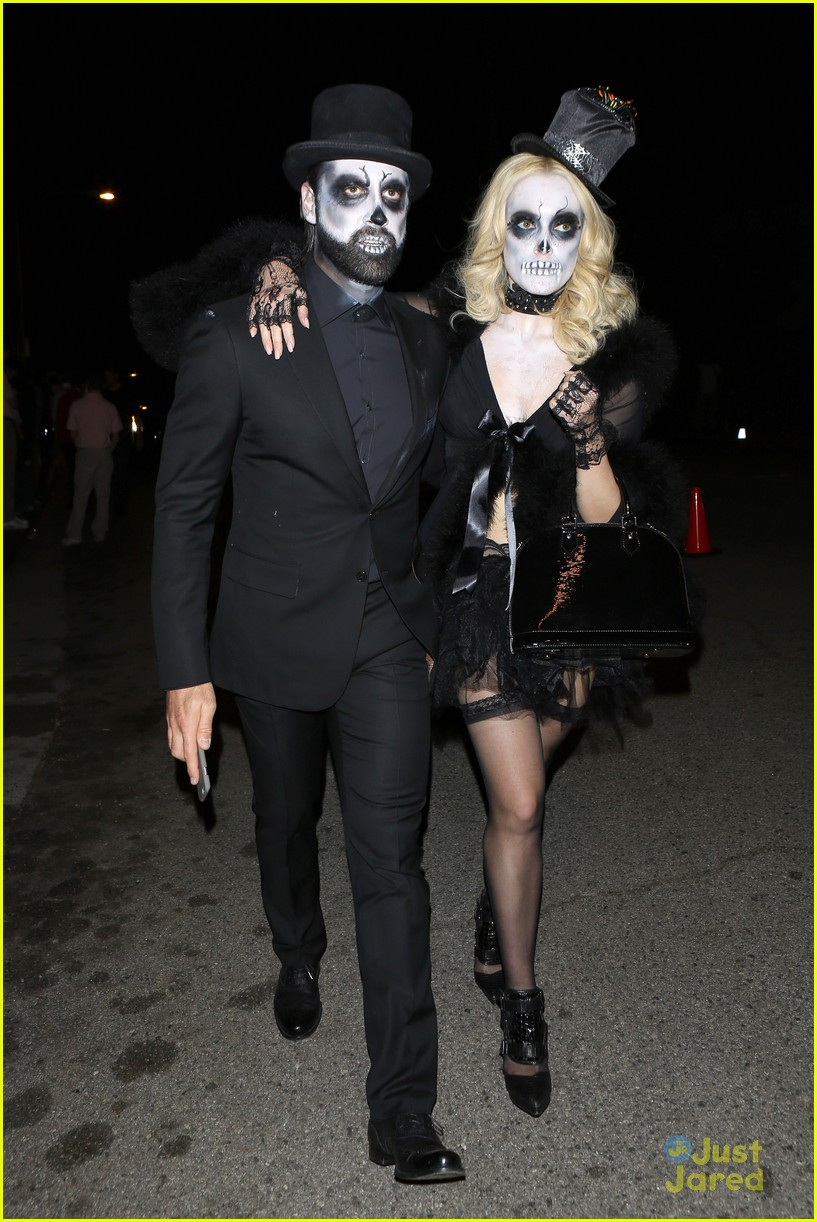 peta maks julianne derek hough more casamigos halloween party 17