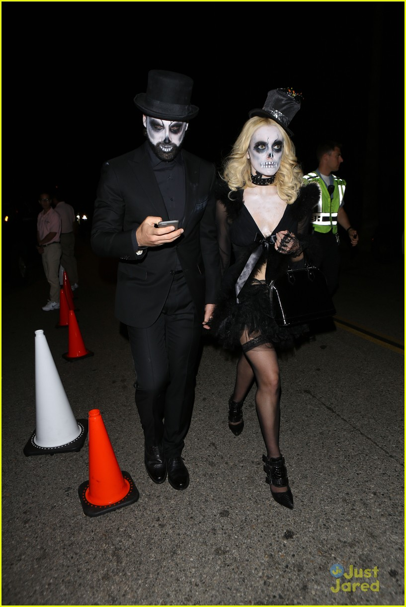 peta maks julianne derek hough more casamigos halloween party 20