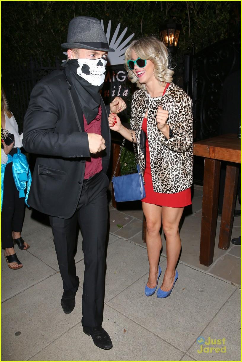 peta maks julianne derek hough more casamigos halloween party 24