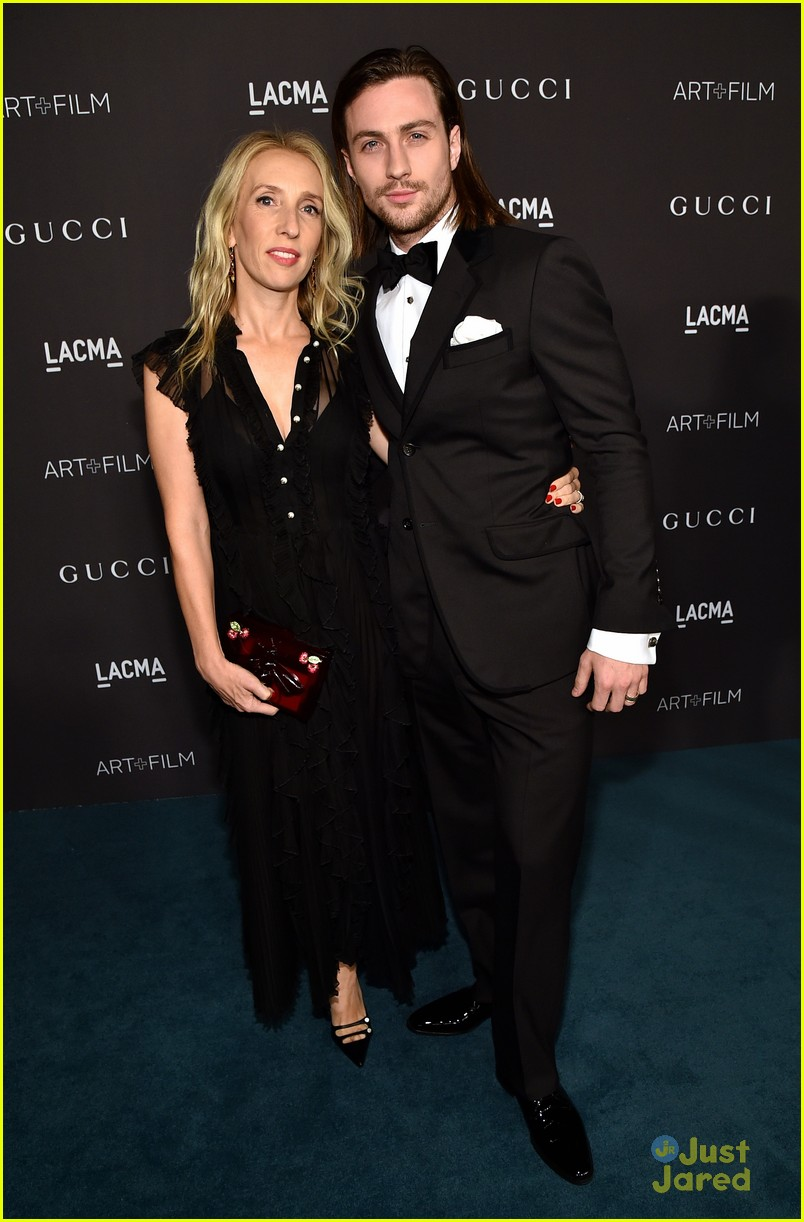 saoirse ronan aaron johnson lacma art film gala 09