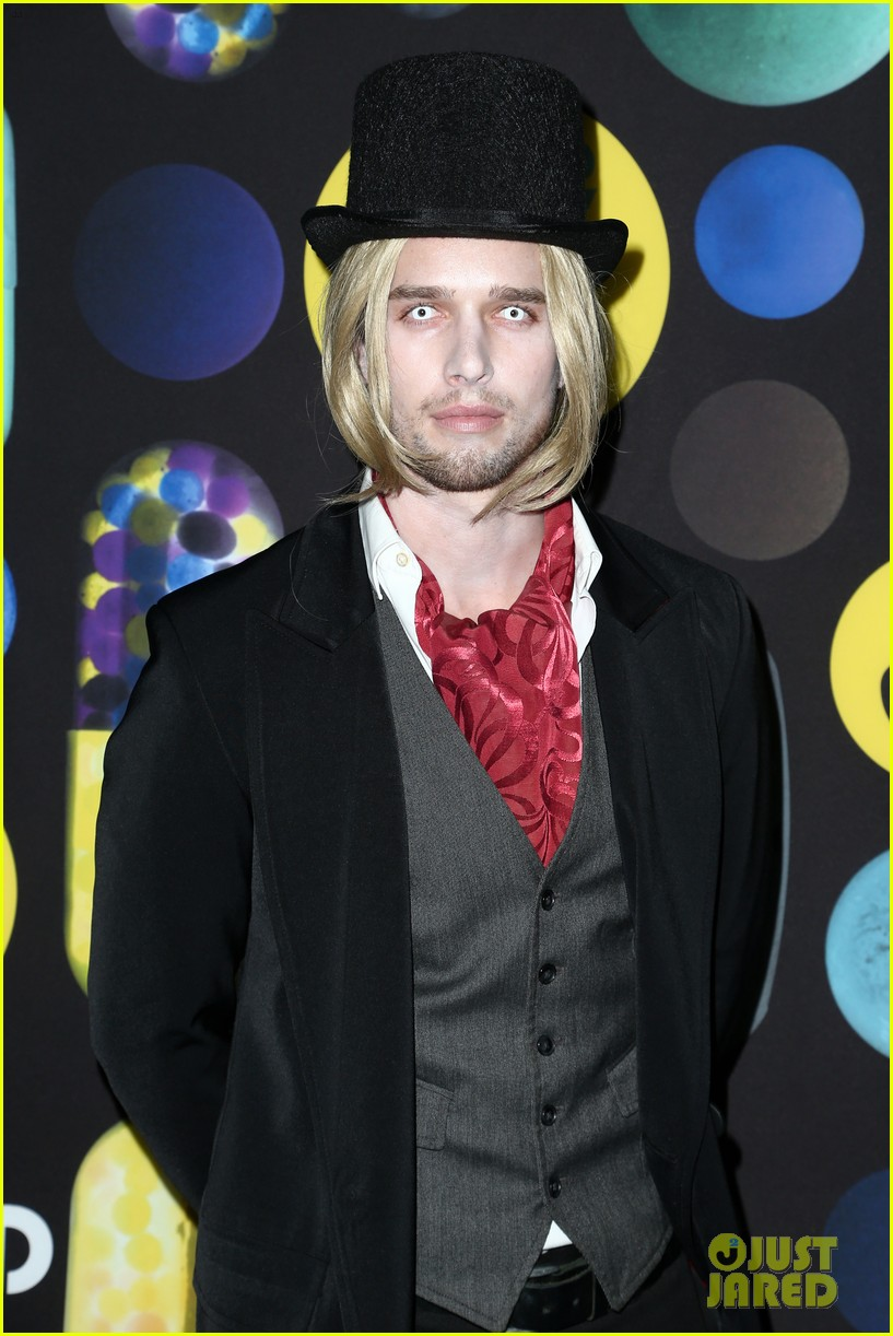 mark salling dresses as jared eng at the jj halloween party 13