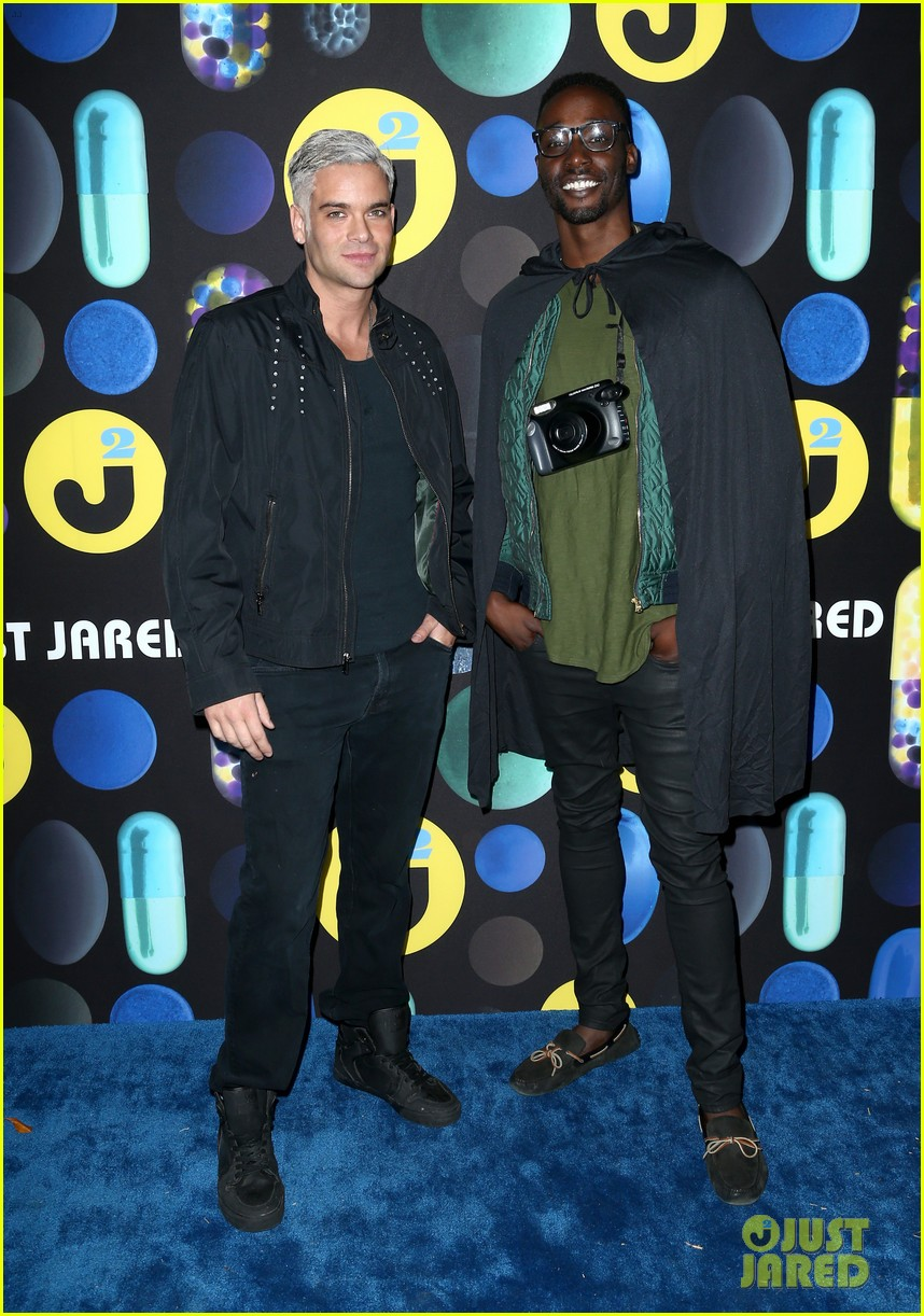 mark salling dresses as jared eng at the jj halloween party 24