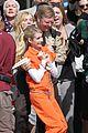 scream queens arrest orange suits lea michele eye patch 03