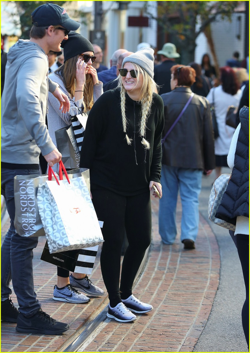 Meghan Trainor Gets Her Christmas Shopping Done Early | Photo 899526 - Photo Gallery | Just ...