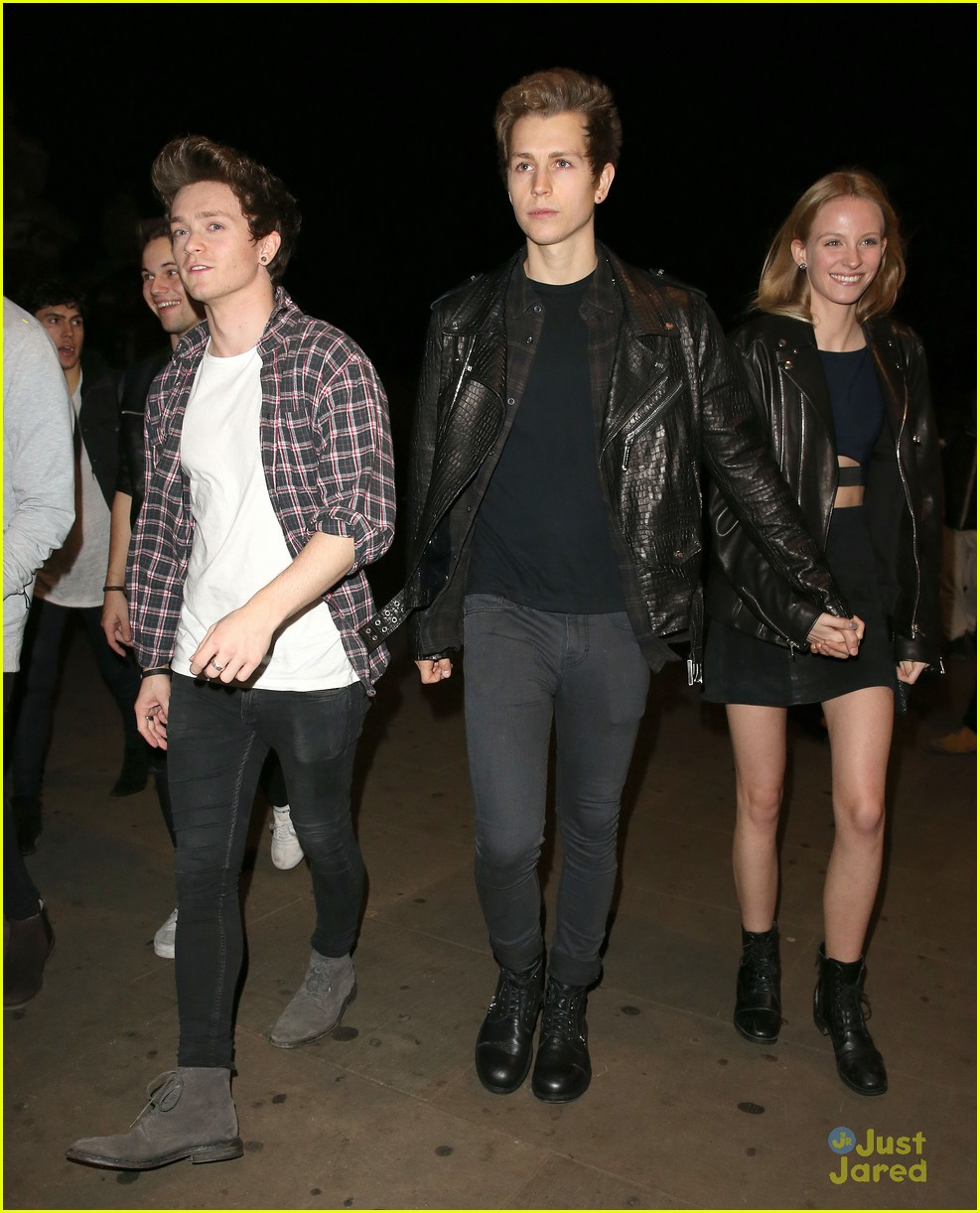 vamps jake roche jordan kiffin danielle peazer mix launch party 02
