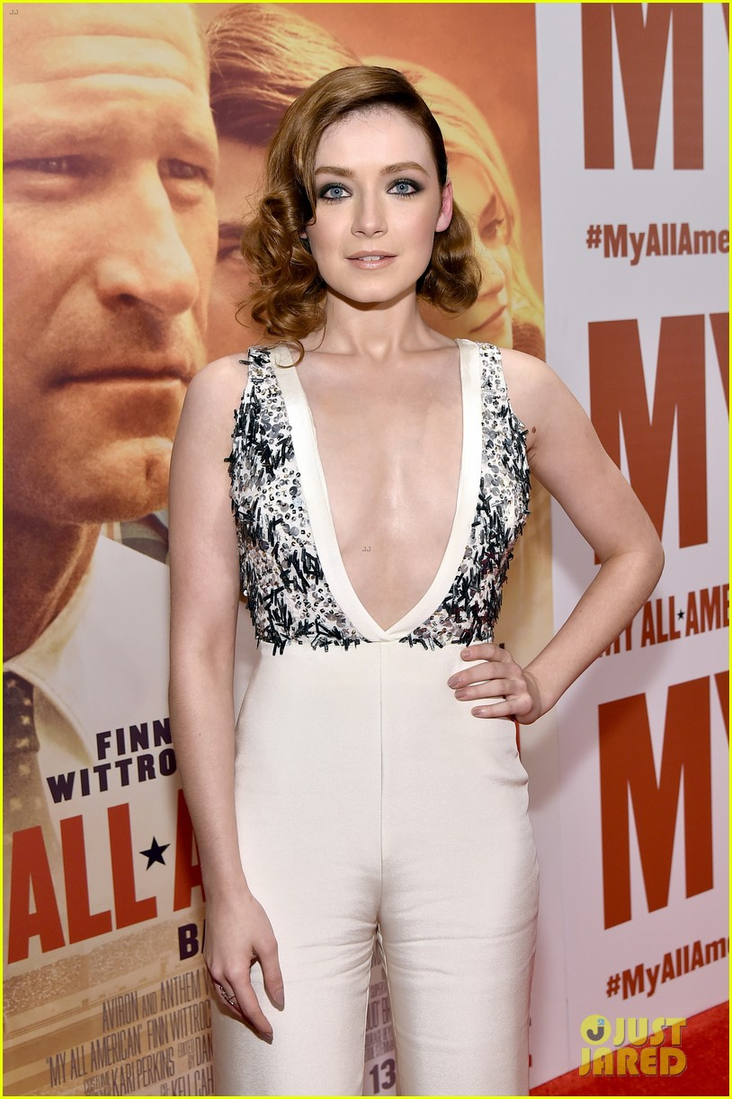 finn wittrock gets support from ahs co stars at my all american premiere 22