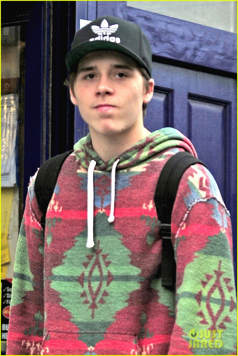Brooklyn Beckham Knows How to Make an Aztec Sweater Look Good ...