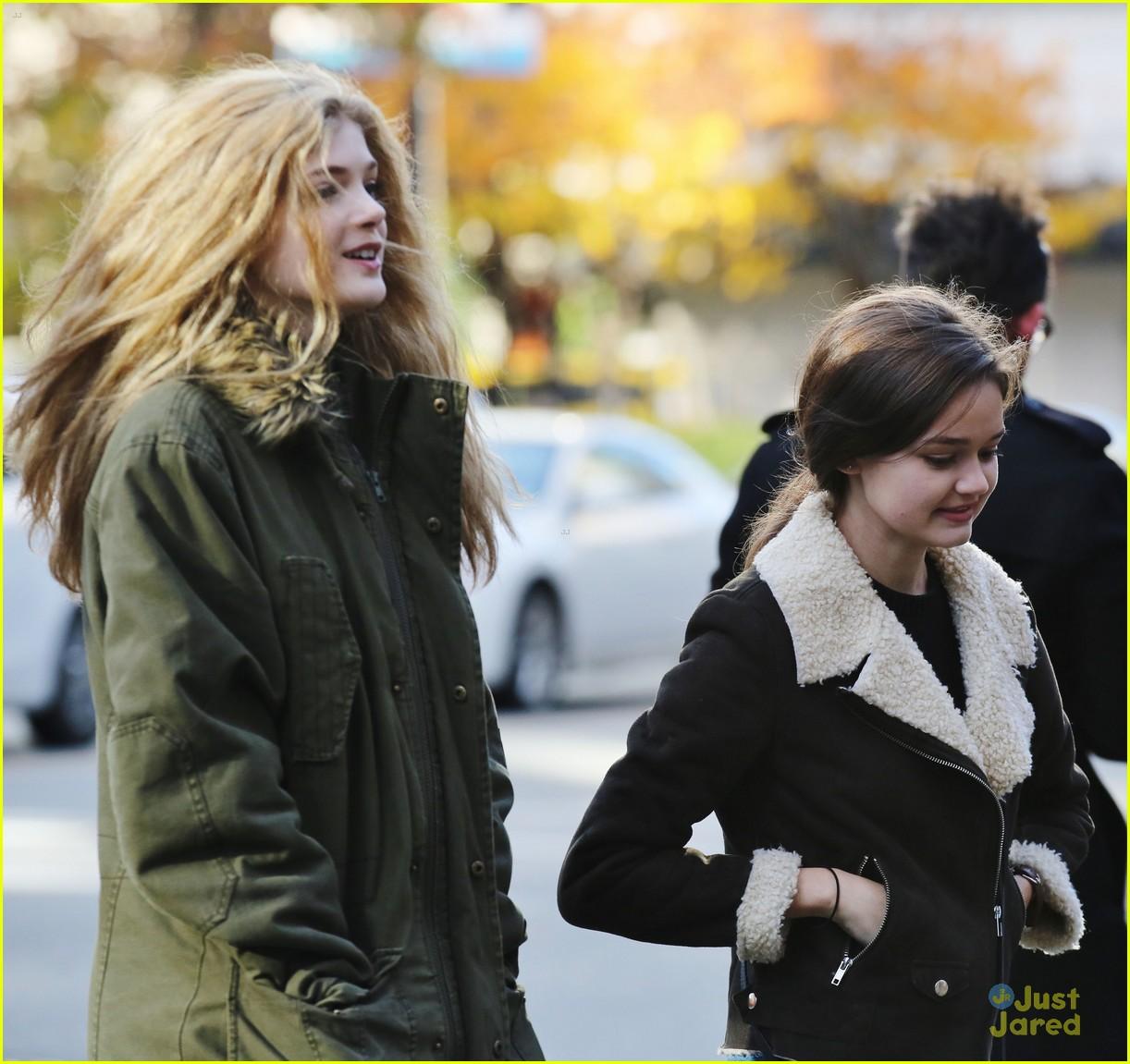 ciara bravo elena reunite vancouver second chance filming break 05