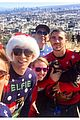 tom daley dustin lance black go hikini in christmas sweaters 09