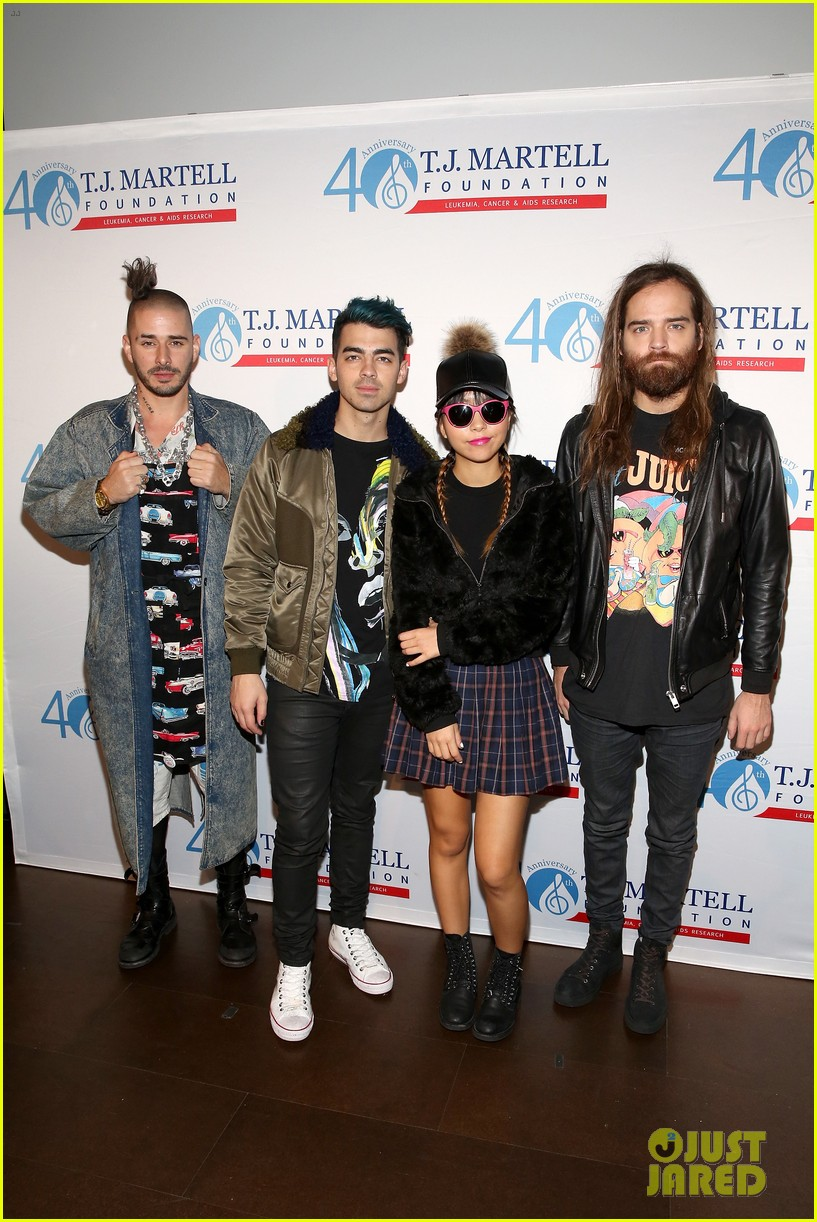 dnce tj martell foundation 2015 family day 03