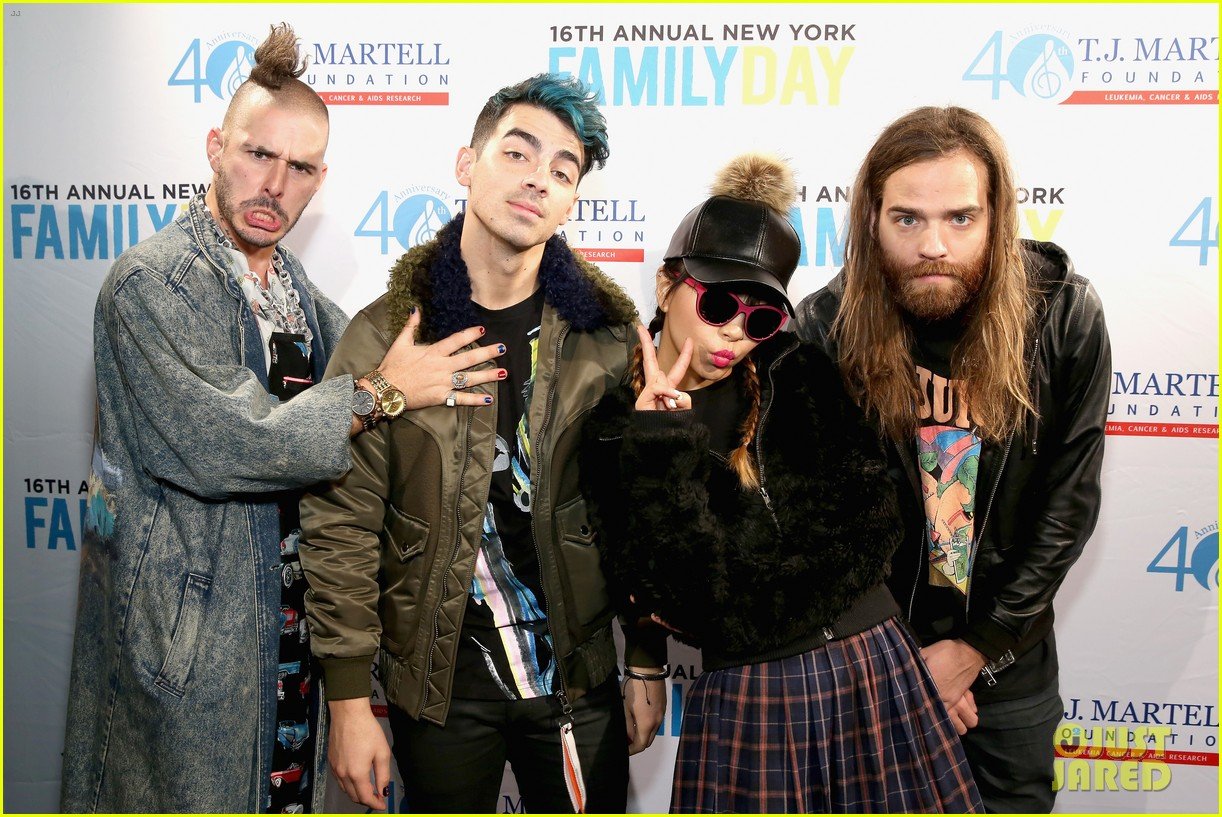 dnce tj martell foundation 2015 family day 05