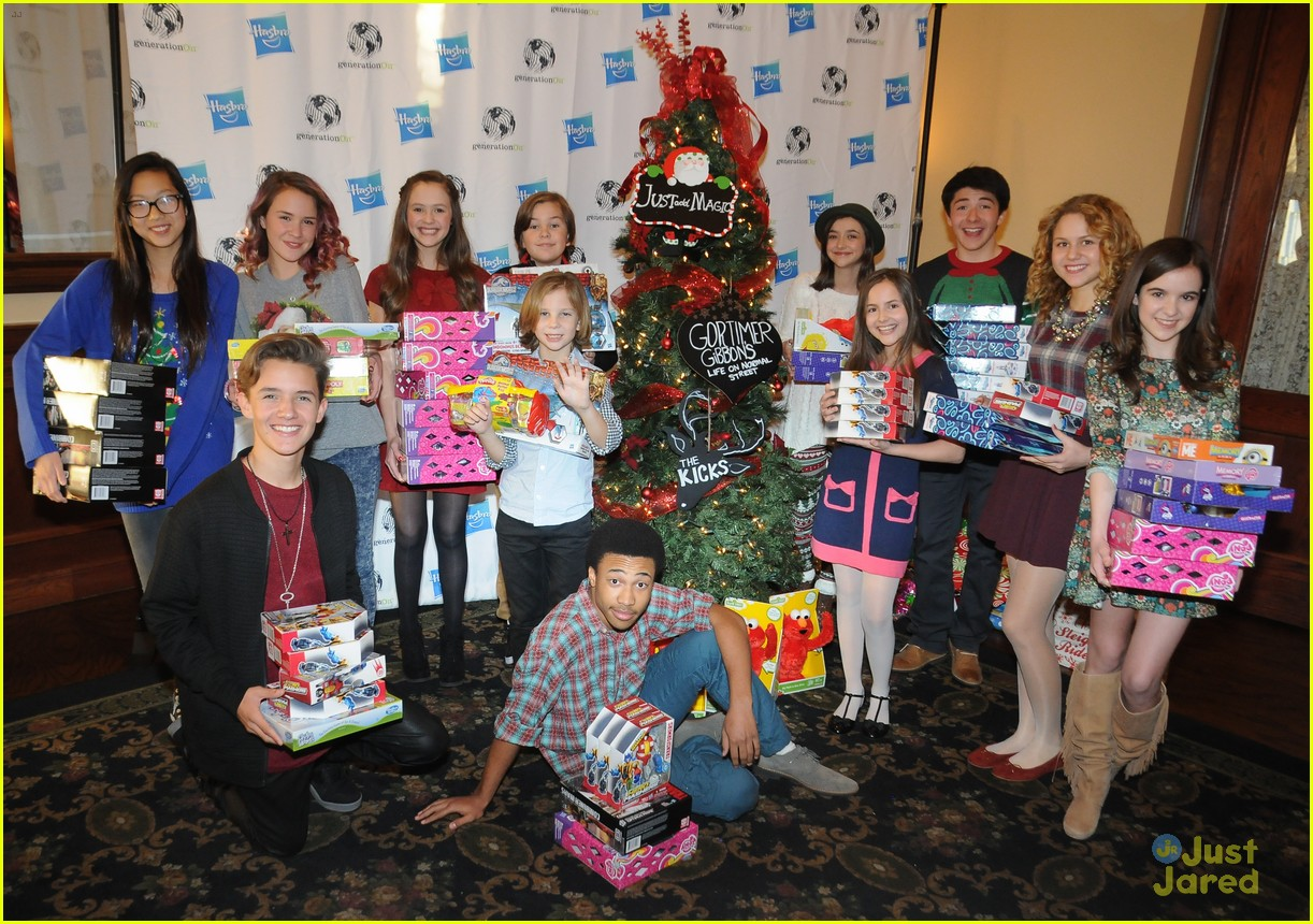 Christmas Joy Cast.The Kicks Gabe Eggerling Spreads Christmas Joy With