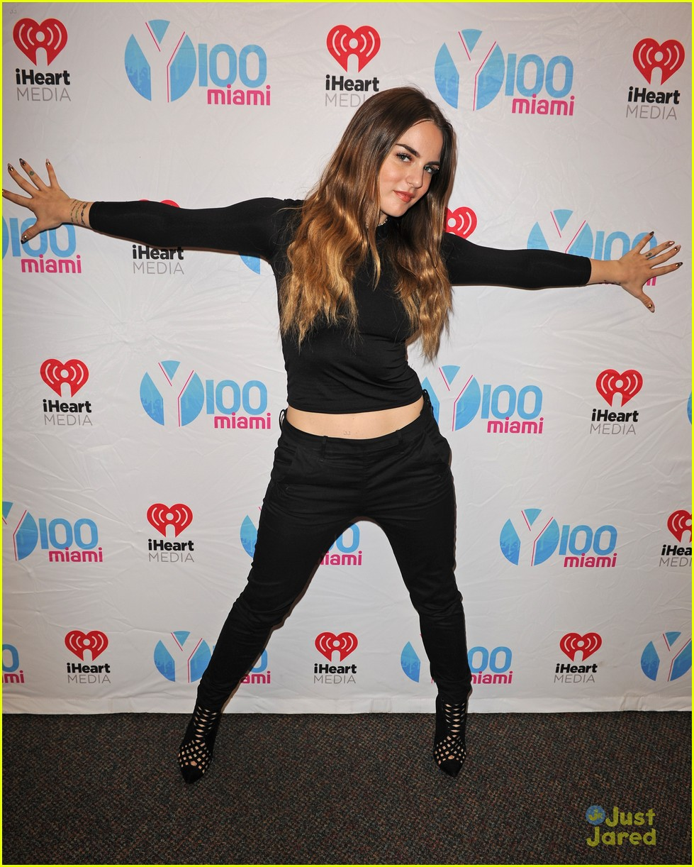 jojo y100 hits radio station visits fla 17