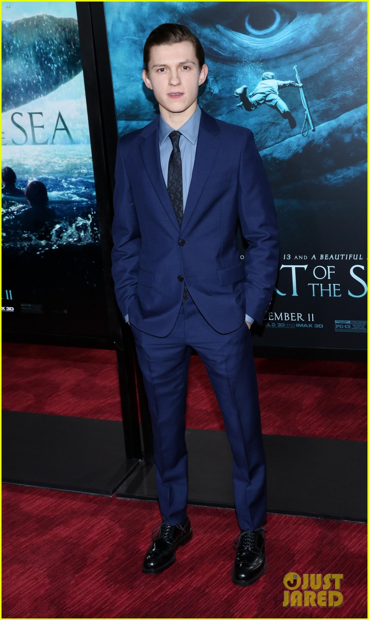 tom holland heart of sea premiere nyc 10