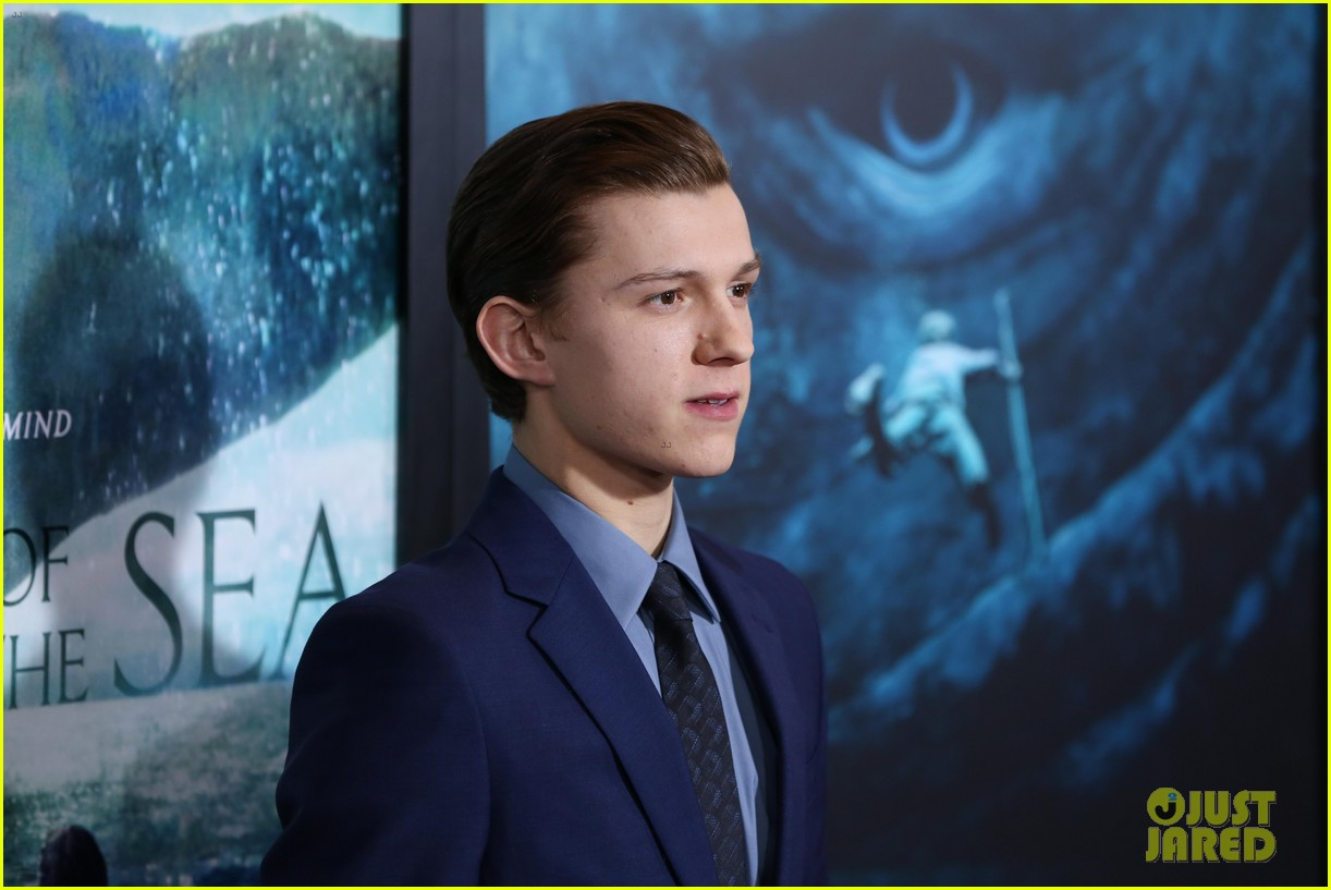tom holland heart of sea premiere nyc 14