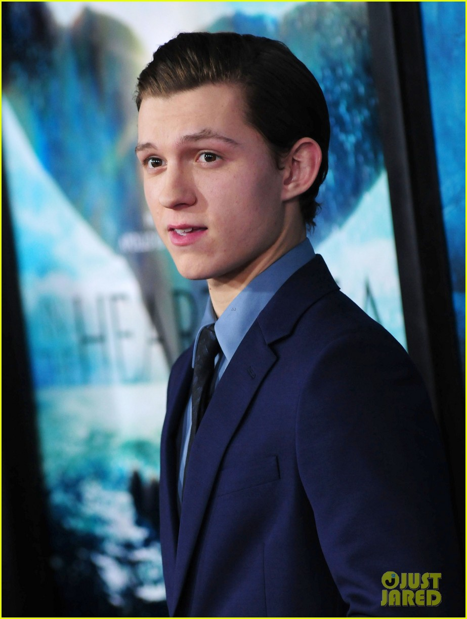 tom holland heart of sea premiere nyc 15