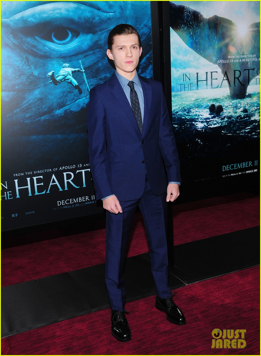 tom holland heart of sea premiere nyc 16