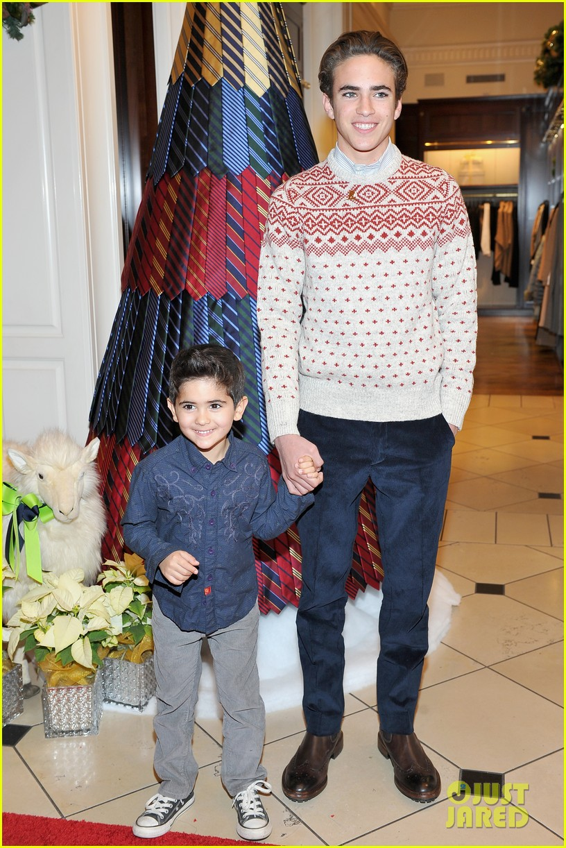 ashley tisdale yara shahidi more brooks brothers st jude holiday event 37