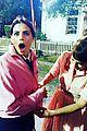 supergirls melissa benoist jenna dewan visit grease live set in costume 02