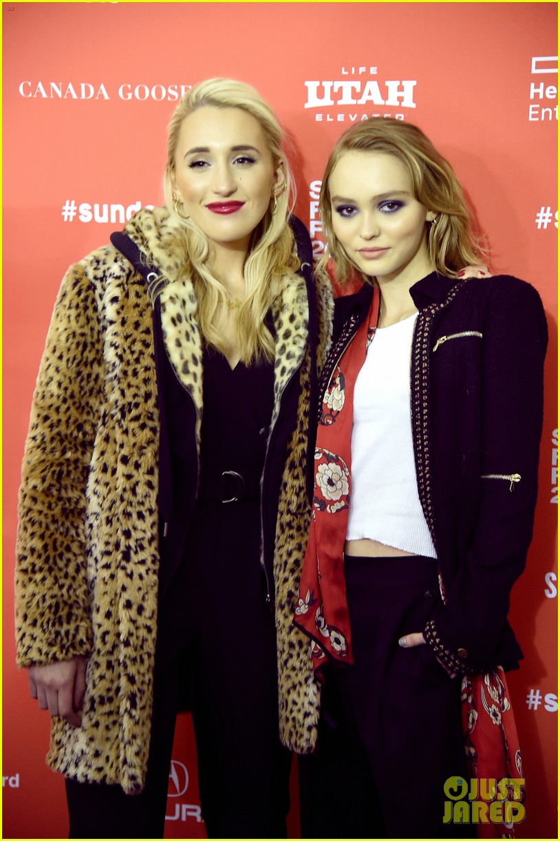 lily rose depp makes sundance debut at yoga hosers premiere 03