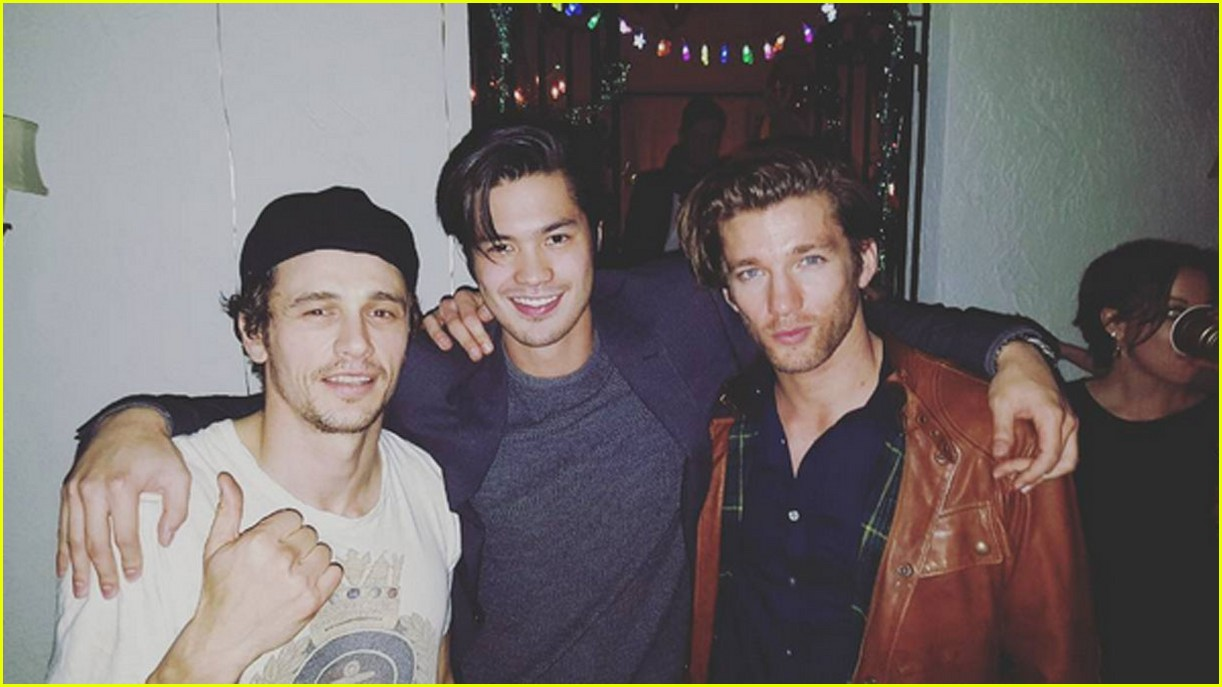 james franco rings in new year ross butler dave 05