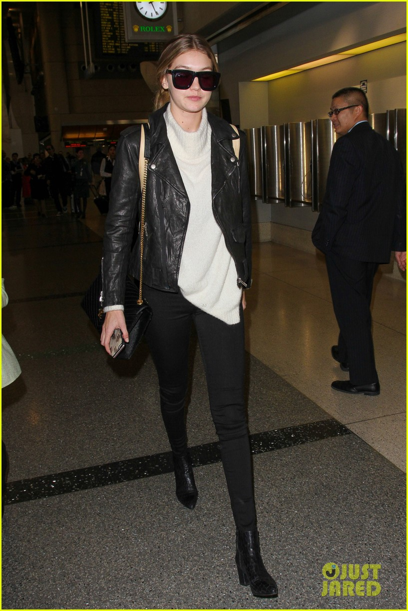 gigi hadid masterchef devon windsor lax airport 12
